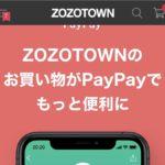 ZOZOTOWN  PayPayで支払いできない!?   簡単にできる正しい支払い方法をご紹介!